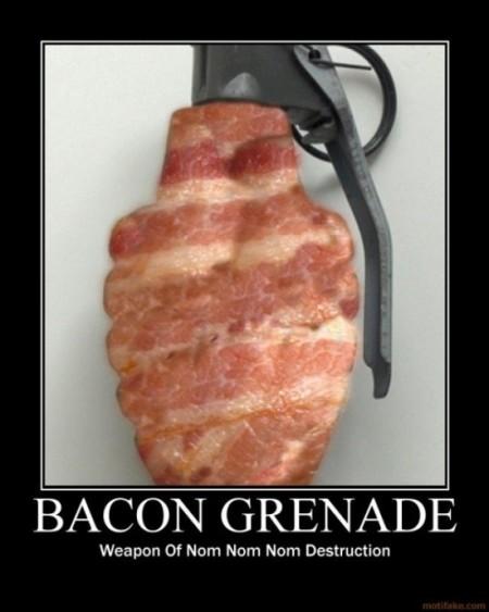 Bacon grenade